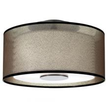 DRUM SHADE SEMI-FLUSH MTS.