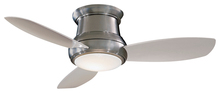 Minka Aire Concept Ceiling Fan in Brushed Nickel - F518-BN