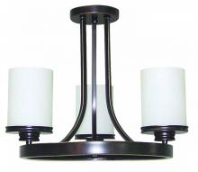 PILLAR CANDLE SEMI-FLUSH MTS.