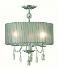 Drum Shade Chandeliers in Manteca