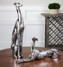 RESTING GREYHOUNDS