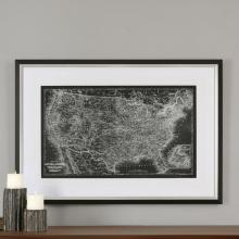 CUSTOM UNITED STATES MAP