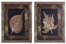 OUTDOOR BORDERED LEAVES