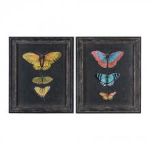 BUTTERFLIES ON SLATE
