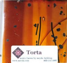 FUSED GLASS TORTA