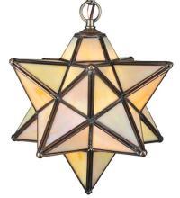 MORAVIAN STAR BEIGE IRIDESCENT