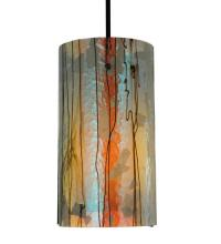 Drum Shade Mini Pendants in Manteca