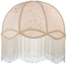 FABRIC & FRINGE IVORY DOME