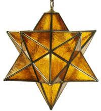 MORAVIAN STAR AMBER