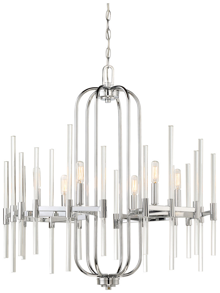 MNK 3097-77 6 Light Chandelier 6X60T8
