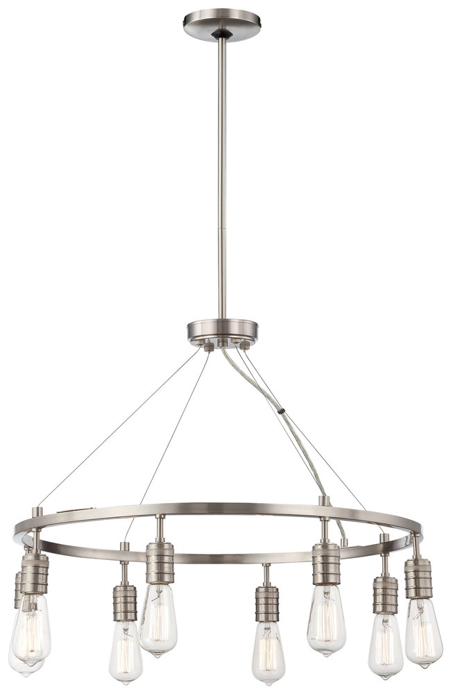 MNK 4138-84 8 Light Chandelier 8X40E26 St58