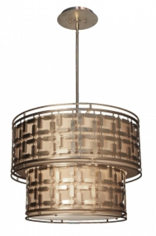 Artcraft Lighting AC10336SL Silver Leaf Pendant 6X100M