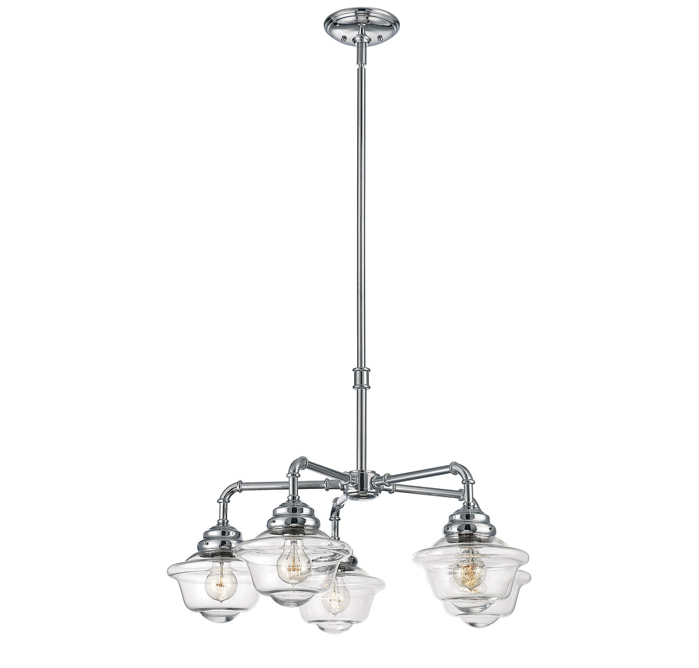 RGU 1-391-5-11 Fairfield 5 Light Chandelier 5X60Edison