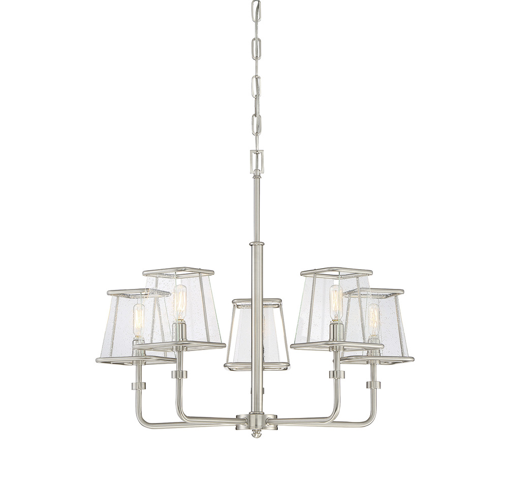RGU 1-650-5-SN DAMASCUS 5 LIGHT CHANDELIER 5x60C DISCONTINUED BY THE MFG 02/2019