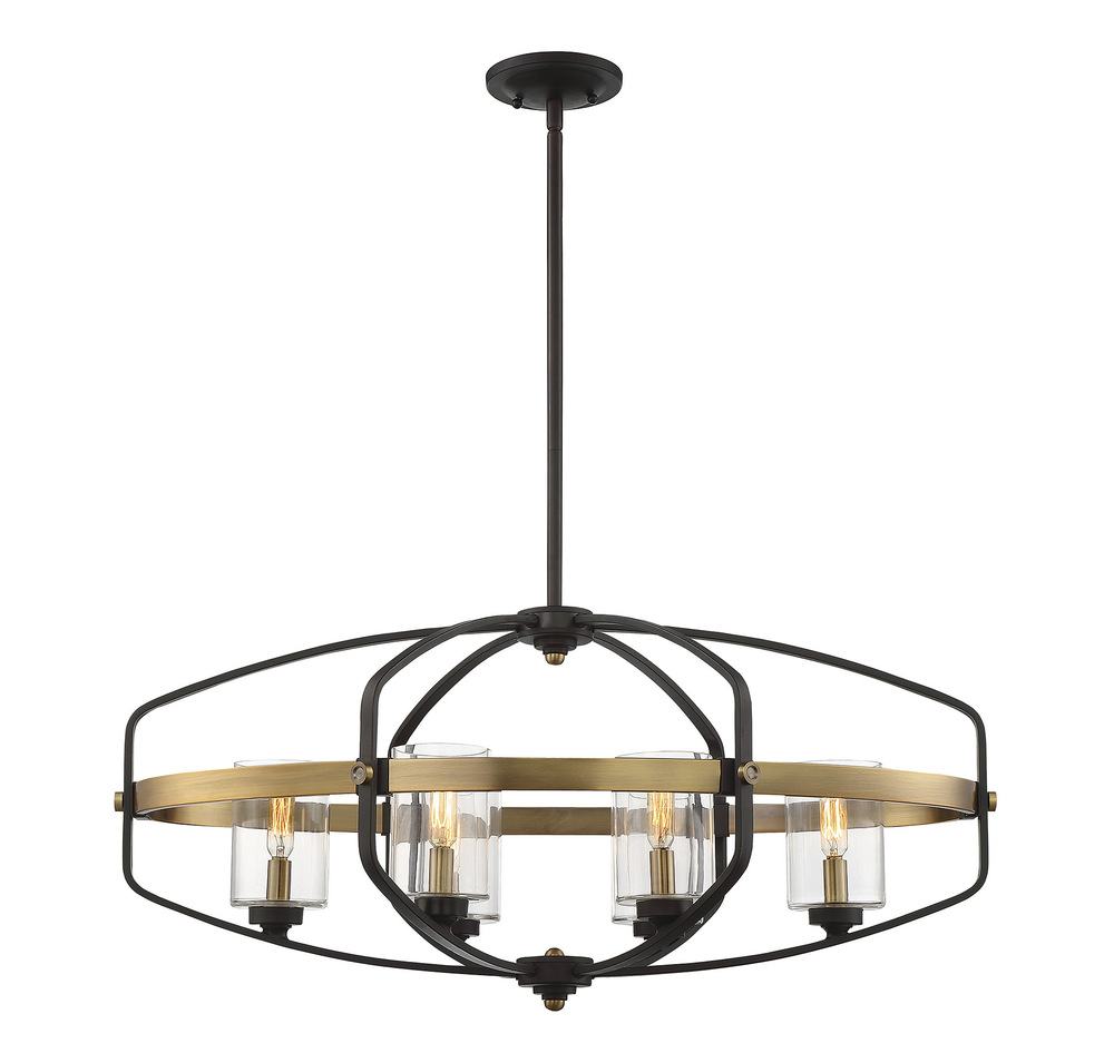 Kirkland 6 Light Linear Chandelier