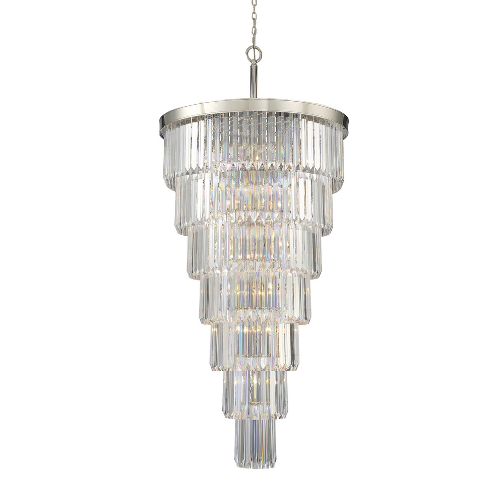 RGU 1-9803-19-109 Tiernet 19 Light Chandelier 19x40w