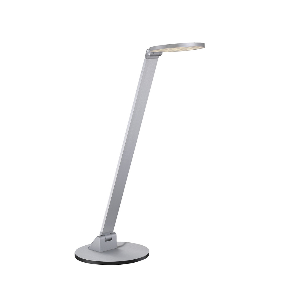 "RGU 4-2001-NA Fusion 1Lt Natural Aluminum LED Desk Lamp 20 1/2""H x 7""W lamp included NEWSTOCK SEPT 2016"