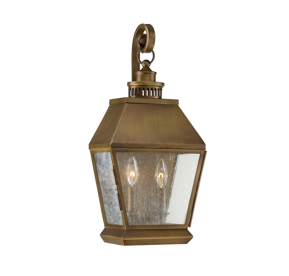RGU 5-5891-36 Two Light Burnished Copper Wall Lantern