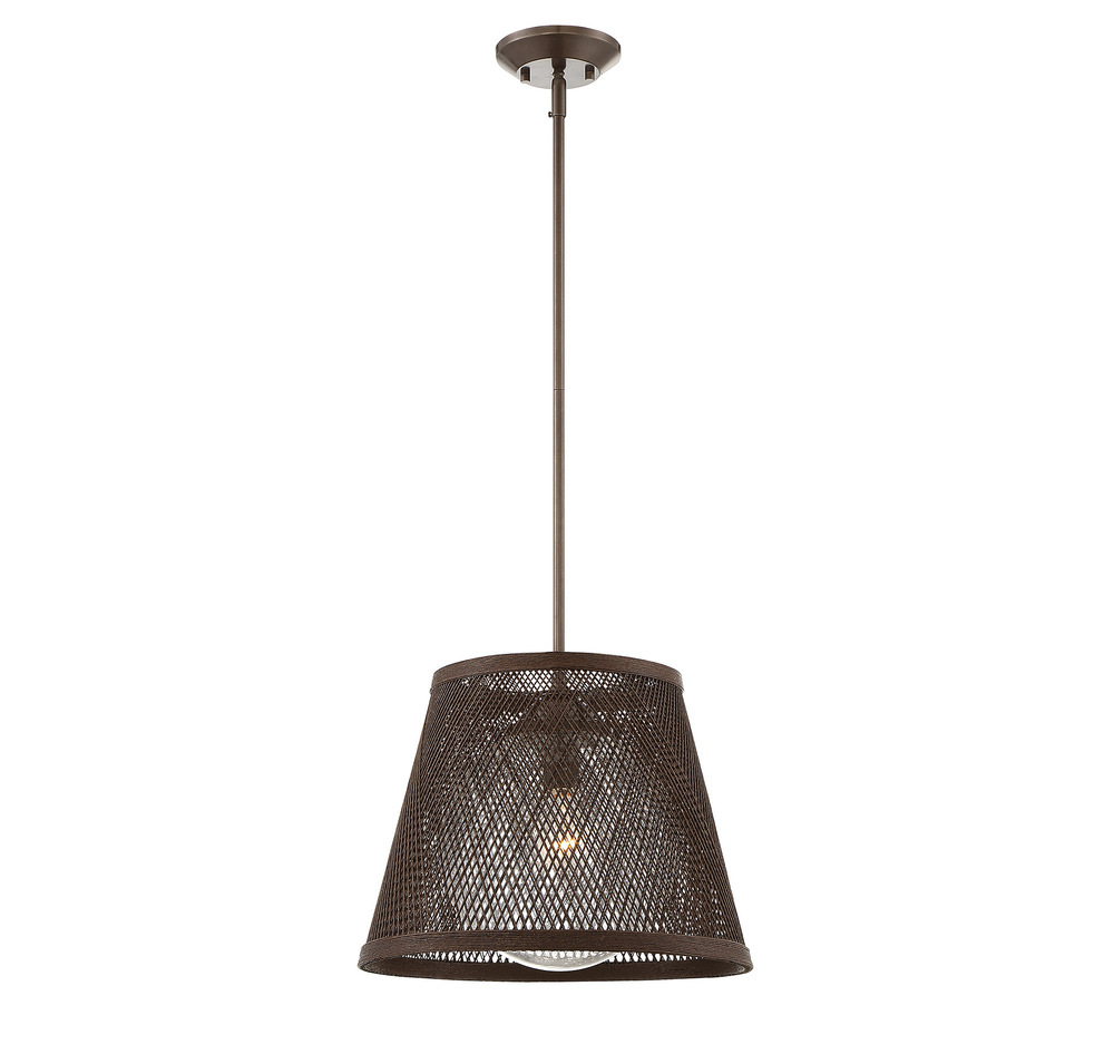 RGU 7-1140-1-71 Messina 1 Light Outdoor Pendant 1X100Edison