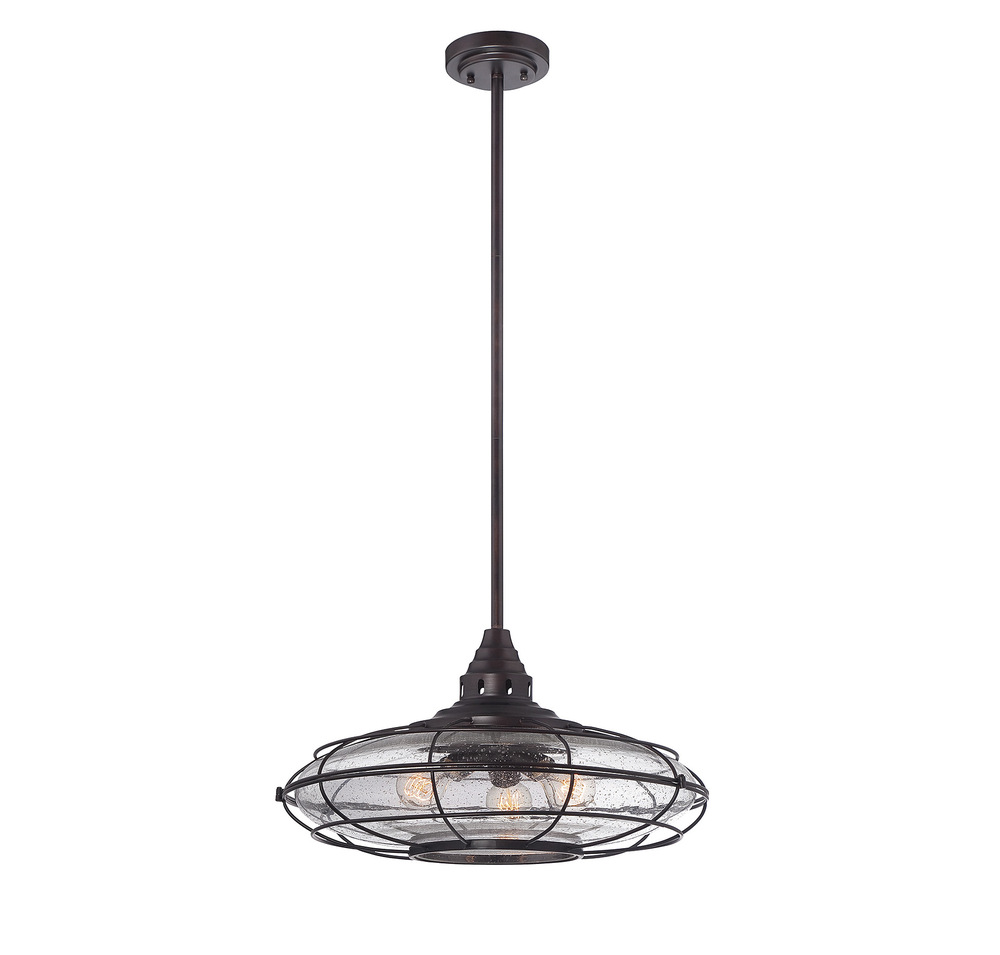 RGU 7-573-3-13 Connell 3 Light English Bronze Pendant 13.67