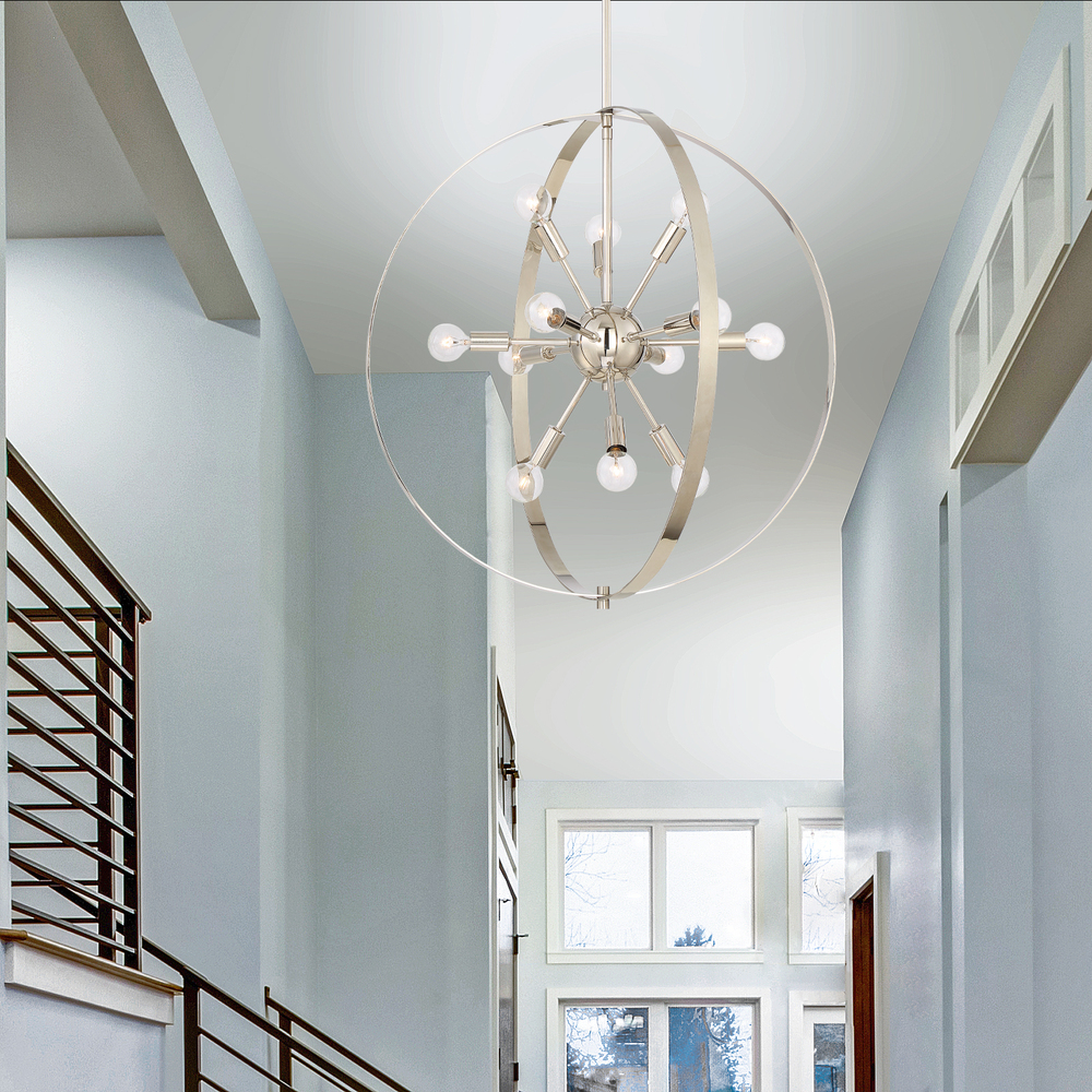 RGU 7-6098-12-109 Marly 12 Light Chandelier 12X60Candelabra