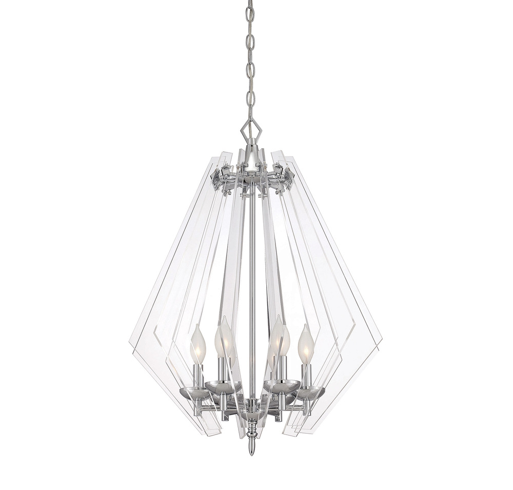 RGU 7-670-6-11 Newell 6 Light Pendant 6X60Candelabra