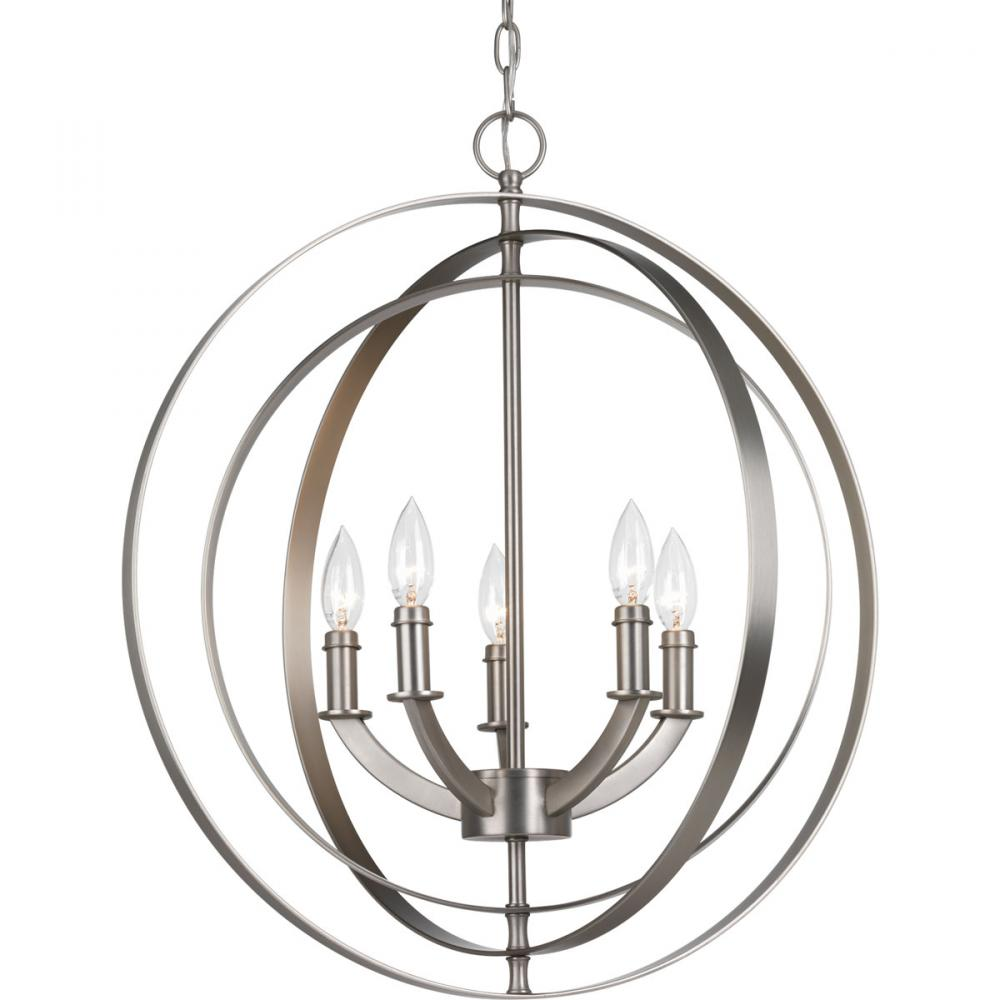 PRO P3841-126 5X60C Equinox Burnished Silver Pendant
