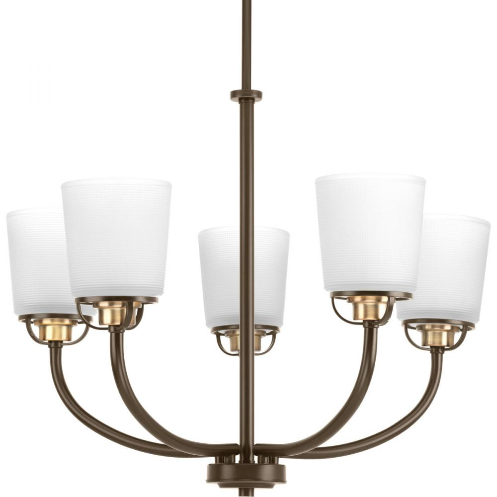 PRO P400009-020 5X100M Antique Bronze West Village Chandelier
