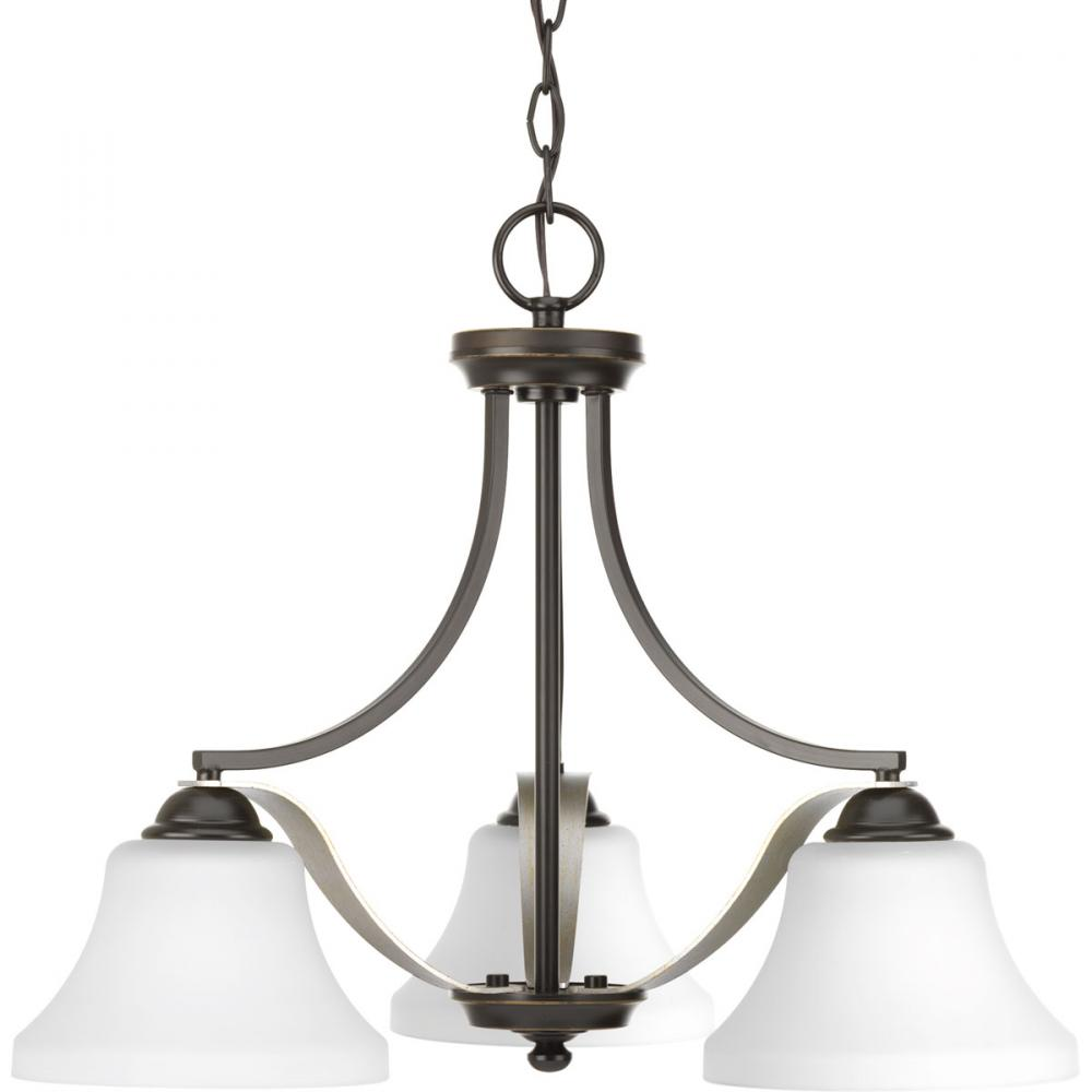 PRO P400011-020 3X100M Noma Antique Bronze Chandelier