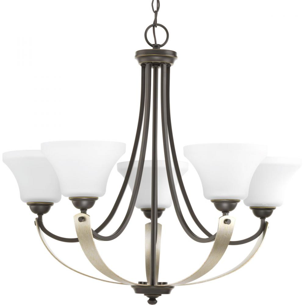 PRO P400012-020 5X100M Antique Bronze Noma Chandelier
