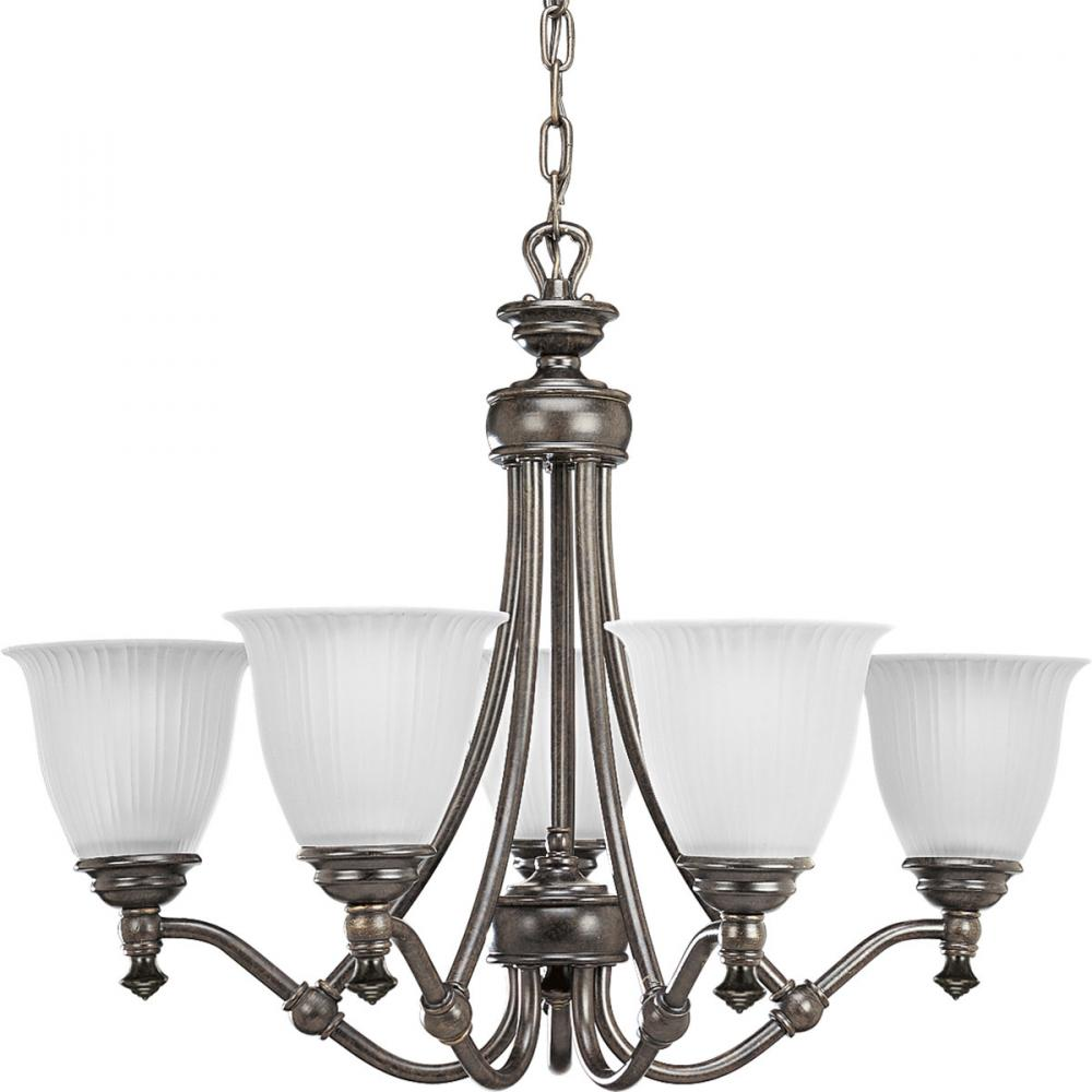 Pro p4115 77 5x100m forged bronze etched glass chandelier pro p4115 77 aloadofball Choice Image