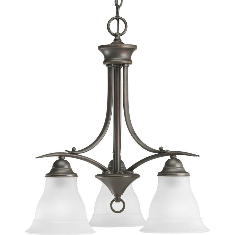 PRO P4324-20 3X100M Trinity Antique Bronze Chandelier
