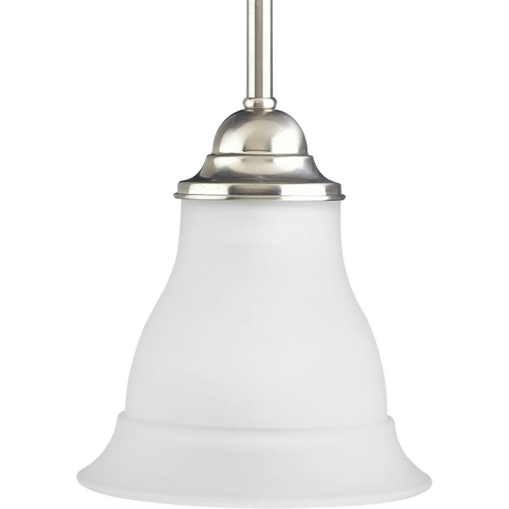 PRO P5096-09 1X100M Brushed Nickel Trinity Mini Pendant