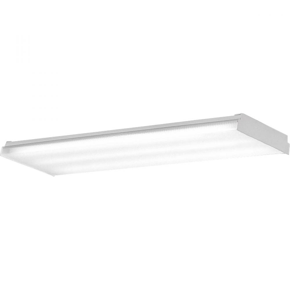 PRO P7196-30EB 4X32T8 Prismatic Acrylic Diffuser Fluorescent Light