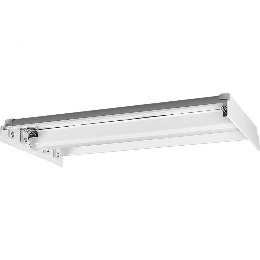PRO P7215-30EB Four Light Whit Fluorescent Chassis 4XF32T8 -MIM-