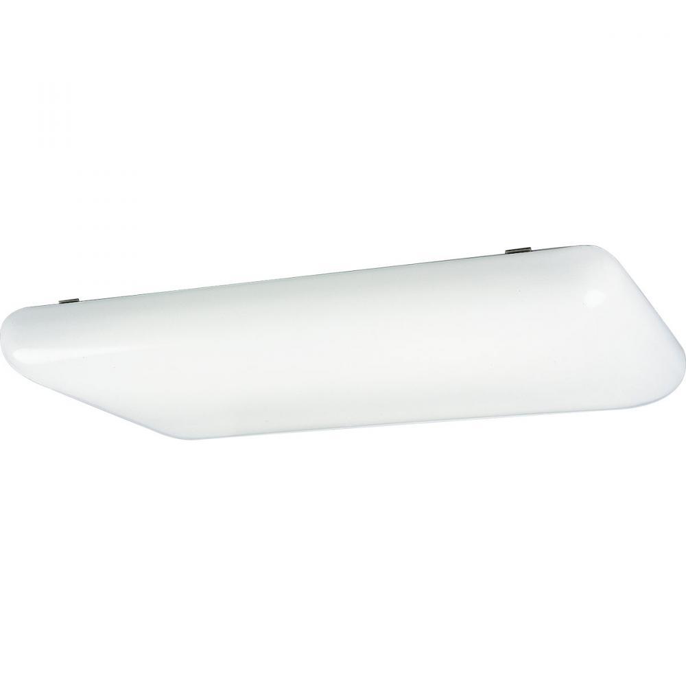PRO P7280-60EB Four Light White Acrylic Cloud Fluorescent 4XF32T8 ...