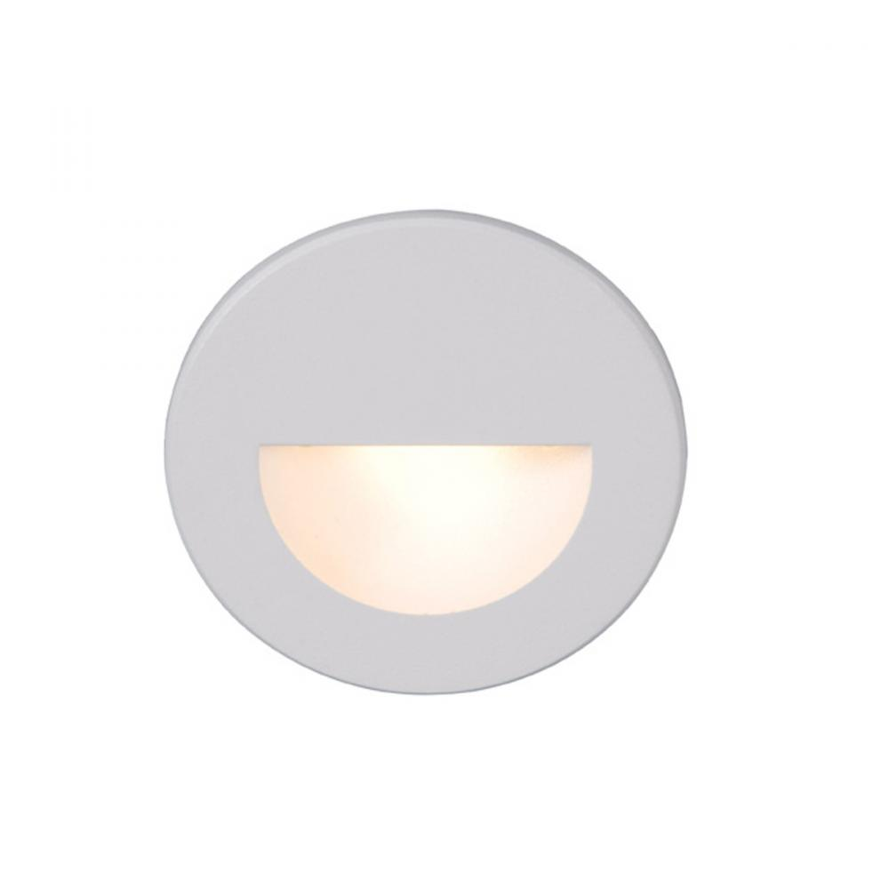 WAC WL-LED300-C-WT LED STEP LIGHT CIRCULAR SCOOP NONSTOCK
