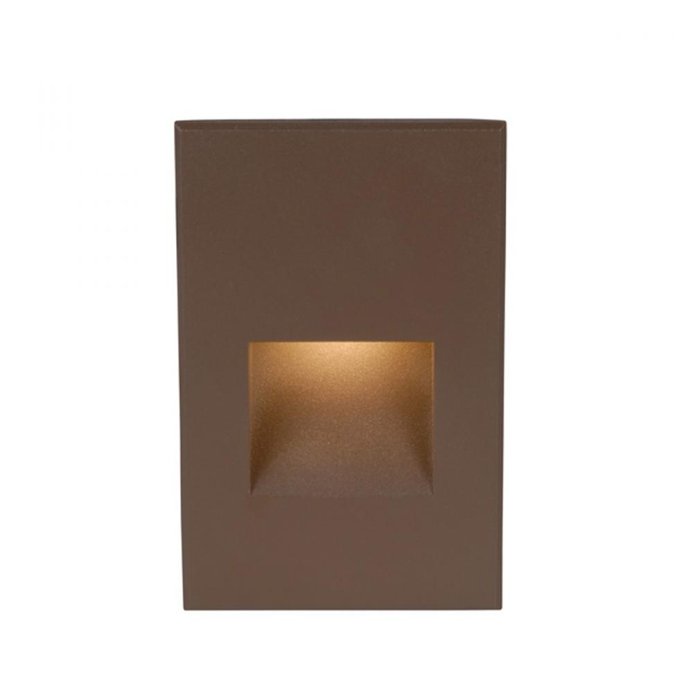 WAC WL-LED200C-BN,VERT.LED STEP LIGHT,BRUSHED NICKEL