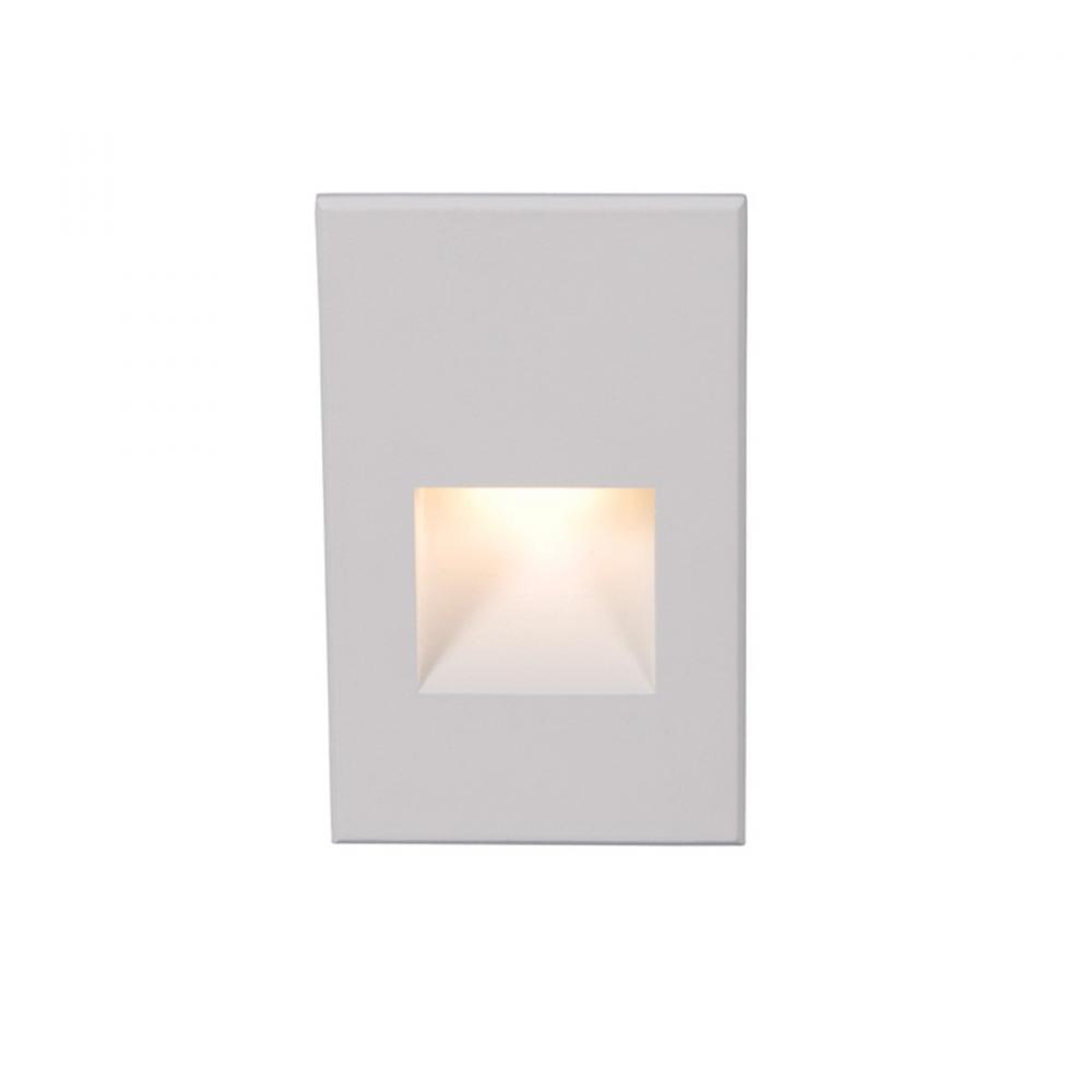 WAC WL-LED200-C-WT 120v,277v 90CRI 3000K White Step and Wall Light