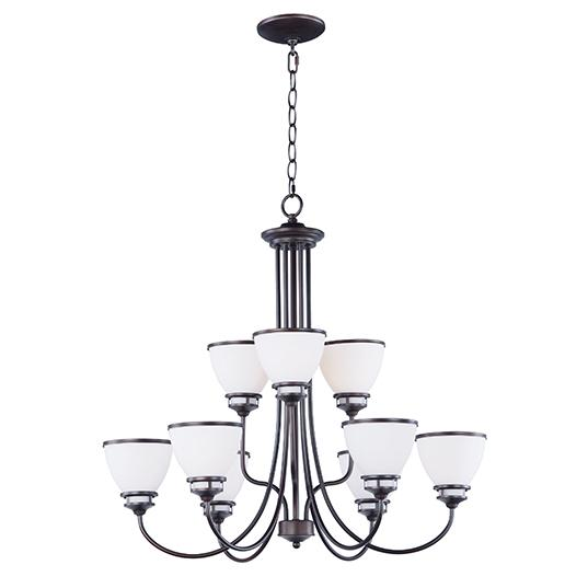 MAX 21587SWOI Novus-Chandelier Dry RatedXTraditionalBronze