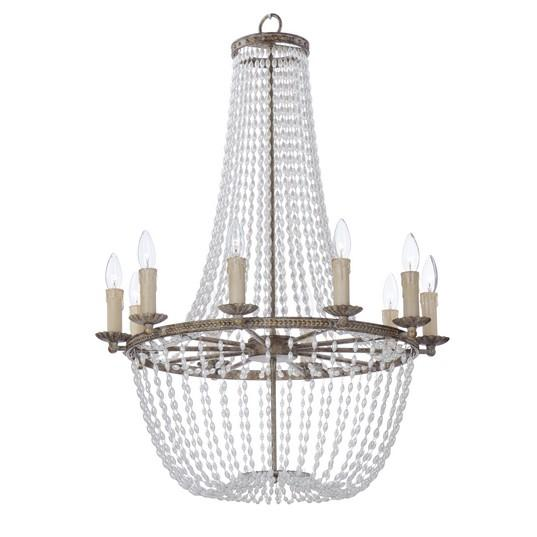 MAX 26008ATR Gisele-Chandelier Dry RatedXTraditionalBlack