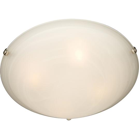 MAX 2680MRSN Malibu 2-Light Flush Mount 2X60M