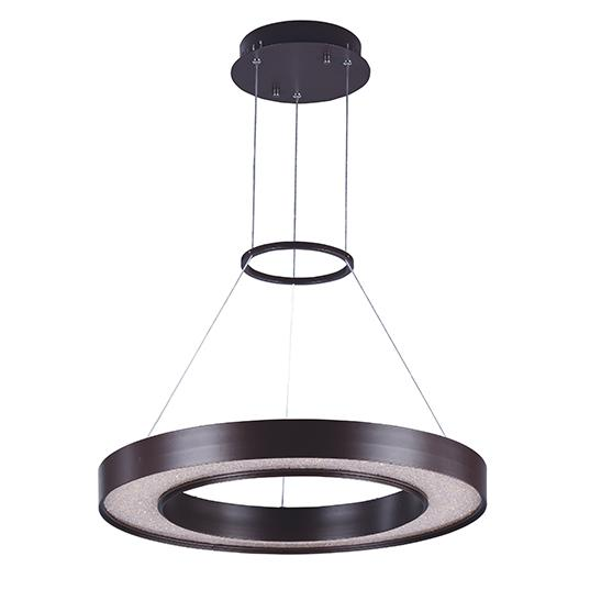 MAX 35046CRYBZ Splendor LED-Entry Foyer Pendant Dry Rated|LEDXTraditionalBronze