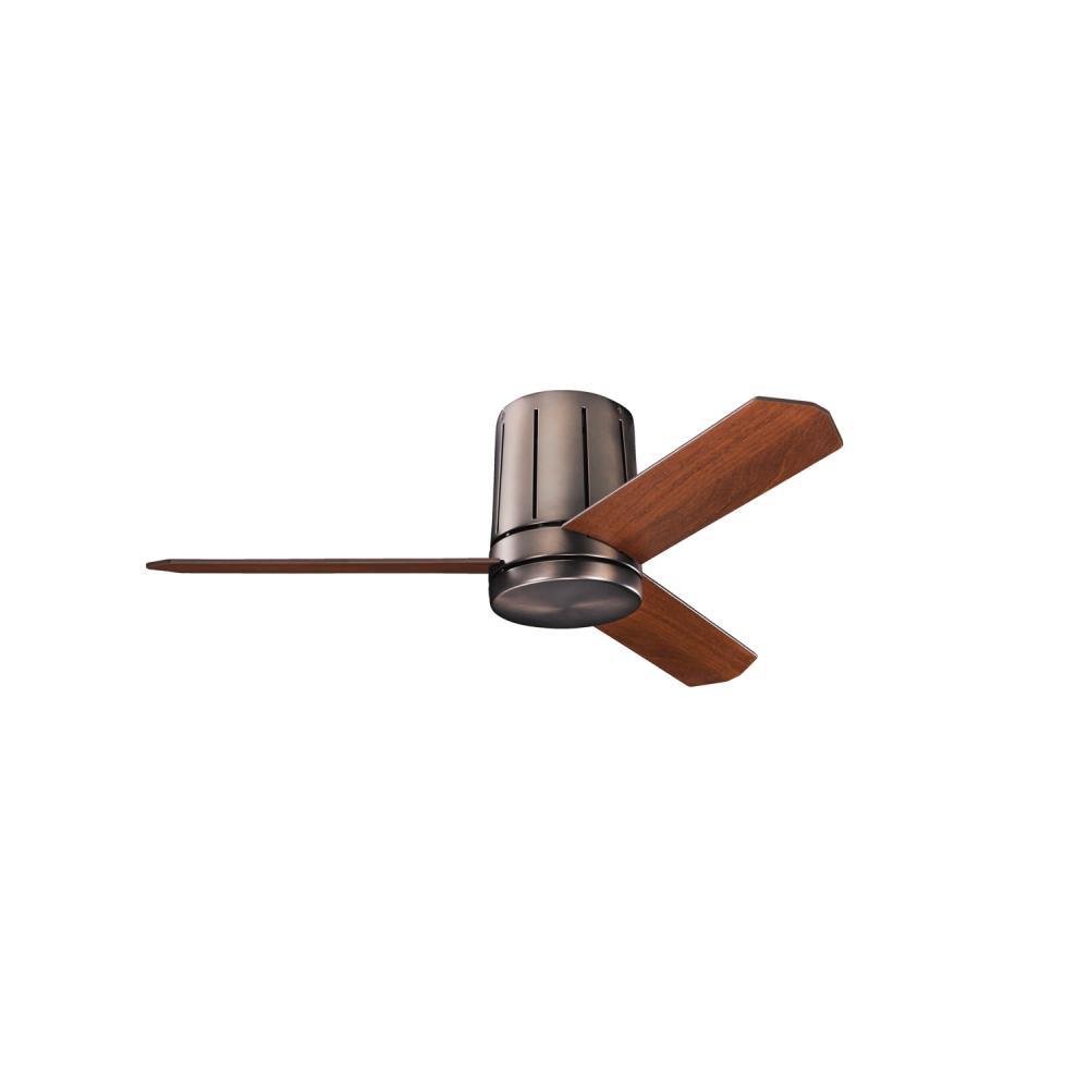 KIC 300130OBB One Light Oil Brushed Bronze Ceiling Fan 1X75Mini Candelabra