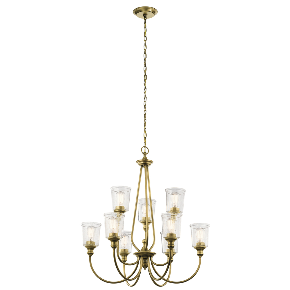 KIC 43948NBR Chandelier 9Lt 9X100Medium
