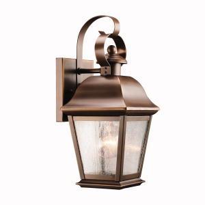 KIC 9707OZ 1X100M Wall Lantern Olde Bronze