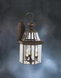 KIC 9785OZ 3X60C Olde Bronze Wall Lantern DISCONTINUED BY THE MFG 02 2020