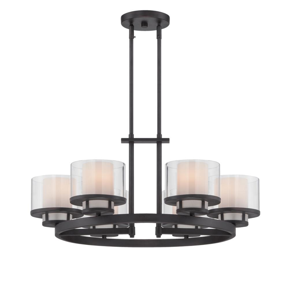 DEF 86186-BBR 6 Light Chandelier 6X100Medium