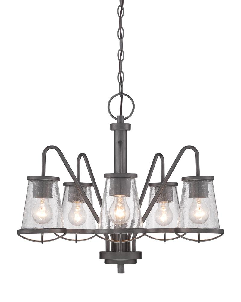 DEF 87085-WI 5 Light Chandelier