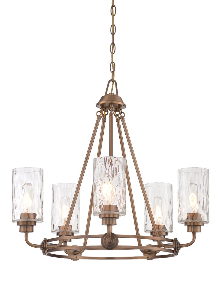 DEF 87185-OSB 5 Light Chandelier
